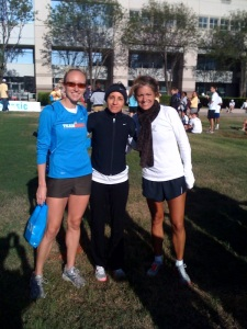 Allison Macsas, Carmen Troncoso and Catherine Barrera at the IBM 10K