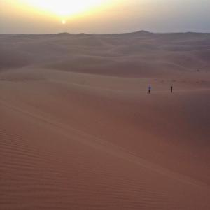 An absolute sense of wonder and calm in the Sahara