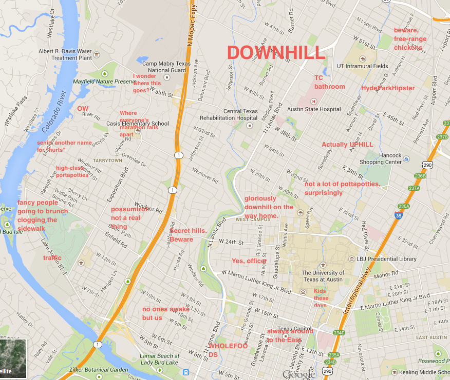 The Rogue Map of Austin  The Rundown