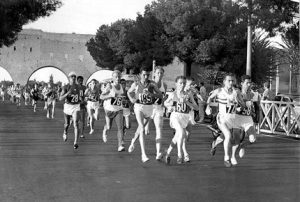 1960 Rome Olympics - Marathon (no Hokas in that one)
