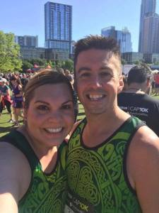Greg and Billie - Cap 10k 2017